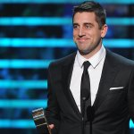 """Aaron Rodgers on second MVP award: """"Its special."""" More: http://t.co/IXdmWpfdsZ #NFLHonors http://t.co/F5JlzQetza"""