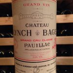 Marshawn Lynch. Chateau Lynch Bages. Maybe a stretch...but close enough. My Super Bowl eve beverage. http://t.co/GpBEgZAM74