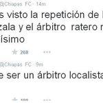 ???? FOTO: @Chiapas_FC, llama ratero al árbitro del encuentro entre León y Jaguares http://t.co/XVgsCCsbG0 http://t.co/1RuOajmECW