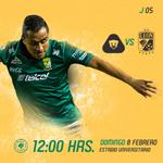 Próximo Partido: @Pumas vs. @clubleonfc | Domingo 8 Febrero |  12:00 H | Estadio Olímpico Universitario. http://t.co/dnIS1EGgcf