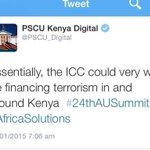 ICC is not about Kenya but individuals, @PSCU_Digital spare us the crap. There are bigger issues to engage @OleItumbi http://t.co/927YmN3tg3