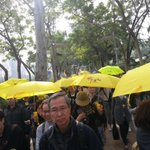 Marching through Victoria Park #umbrellamovement #umbrellarevolution http://t.co/95v6IOlZVH