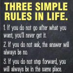 Three Simple #Rules In Life: | What do you think of these rules? http://t.co/LemMxynjpE