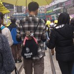 Pics of demostration today in #HongKong #umbrellarevolution #umbrellamovement. #occupyHK http://t.co/OxFSYWVbJ1