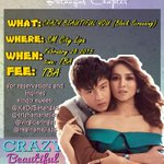 KaDreamers Batangas Block Screening for Crazy Beautiful You! @KaDsBatangas @KaDreamersWorld http://t.co/X3Fe0d2j9m