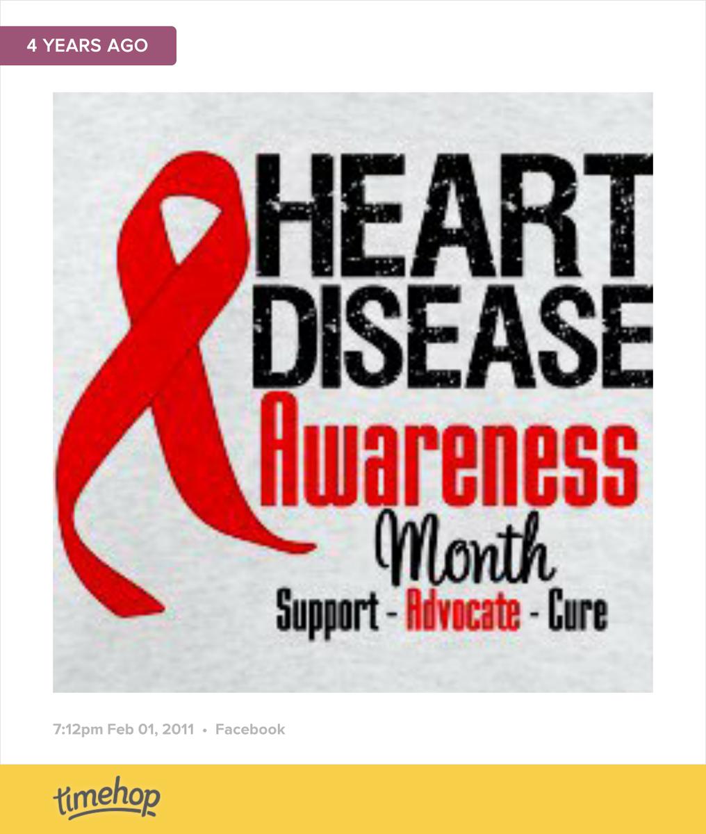 February is #HeartDiseaseAwareness Month http://t.co/K28LtMkNyh http://t.co/dFCC4vgk7w