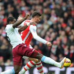 .@_OlivierGiroud_ clips home his eighth goal of the season #AFCvAVFC http://t.co/AMf6mOTiEZ