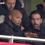 Thierry Henry and Robert Pires at the Emirates Stadium. ♥ #legends #Arsenal http://t.co/oJvR2yaC0L