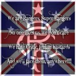 We are rangers super rangers #GlasgowIsBlue http://t.co/EUd16KPcTV