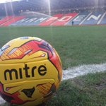 The match ball for todays @celticfc v @RangersFC #scottishleaguecup semi-final is a fluo @MitreSports Delta V12s. http://t.co/UUrAZnMS7G