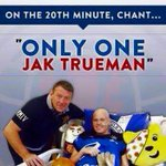 If you are getting to Hampden today please remember to stand up on 20th minute to show our support for Jak Trueman ???? http://t.co/9VkreB6pw9