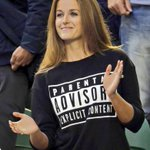 BRILLIANT: Kim Sears responds by wearing this jumper to the Australian Open Final. http://t.co/UmFM2Ny5le