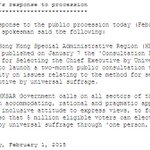 GovHK response to todays democracy rally http://t.co/5Jpfs42Wx6 http://t.co/Mvt9E8ykgs