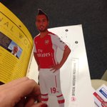 In the Arsenal programme today: a cut out Santi Cazorla. Just what I always wanted http://t.co/wyhOTFtrPQ