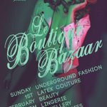 Today is a great day for #alternative #London! @Londonedge & @B0utiqueBazaar flying the flag for #unique #style http://t.co/7GBioxYnfO