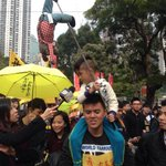 "RT@SocRECorg ""I want real vote"" #HongKong #UMHK #occupyHK #occupy #HK #umbrellamovement http://t.co/jLqcSttiPo"