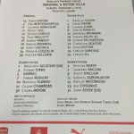 Here are todays confirmed lineups for #AFCvAVFC... http://t.co/Gy1MSsoZQ0