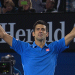 Watch the moment @DjokerNole beat Andy Murray to secure his eighth Grand Slam title http://t.co/R5KhZagyI6 (UK only) http://t.co/GQMR7nMxic