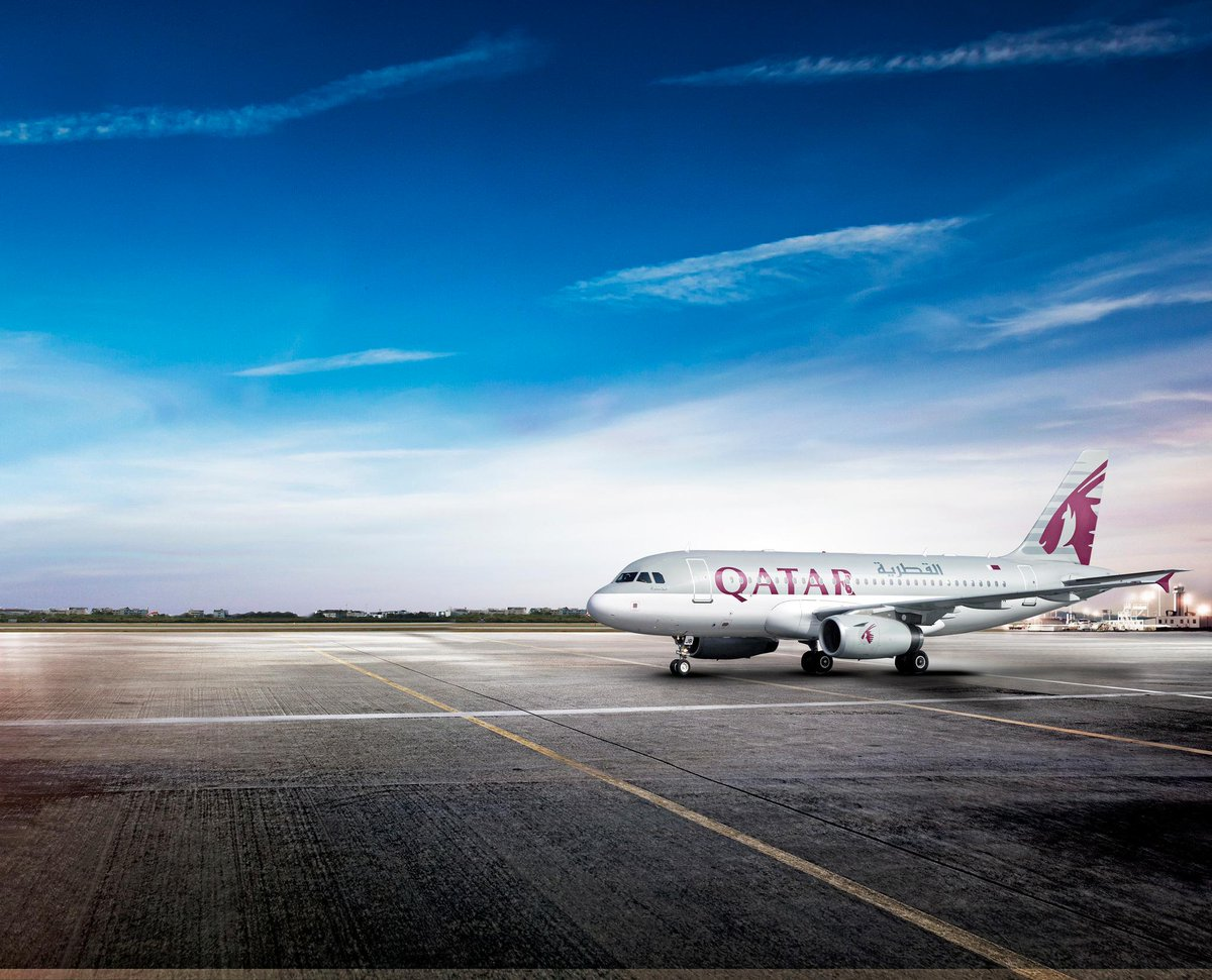 The All-Premium QatarAirways Airbus A319 will join Qatar Executive's charter fleet.