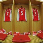 And No 5 is Gabriel... the new signings shirt in the home dressing room. Hes on the bench for #AFCvAVFC http://t.co/edMl6BOObE