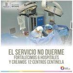 Equipamos a el Hospital General de Cuernavaca Parres con el tomógrafo más moderno del Estado. #2InformeMorelos http://t.co/s1soyIzEMt