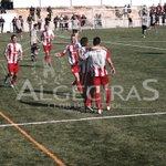 Así celebra el equipo el 1/3 de Joselu. Reacción impecable de los nuestros tras el empate del equipo local. #ACF http://t.co/h9xJTh2P5c