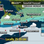 More than 30 cm of snow on tap for parts of SW Ontario & the GTA: http://t.co/xu6vHvFTXu http://t.co/P2aofTTs0b