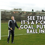 Paul Lambert with some stirring tactics to help his side score their first Premier League goal in f*cking ages: http://t.co/IDplChyS8f