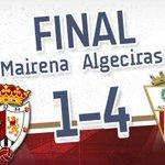 FINAL. CD Mairena 1- @AlgecirasCF 4. Exhibición goleadora del equipo en el 2T en un partido muy completo. ¡Vamos! http://t.co/uy6a88DvIr