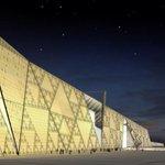"""Египетийн пирамидаас 2 кмийн зайд дэлхийд хамгийн том болох археологийн музей бгуулж бна.100K vзмэртэй гэнэ.2015 онд http://t.co/lweN8PZ70L"""""""