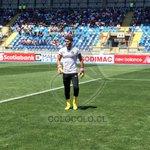 Le mandamos mucho ánimo a Justo Villar y le deseamos todo el éxito a Paulo Garcés esta tarde! #VamosColoColo!!! http://t.co/HNvZuIxiaB