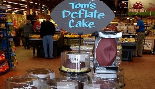 Very funny, @Wegmans. Check out Tom's Deflate Cakes for #SuperBowlXLIX: http://t.co/upB16jUJZn (h/t @darrenrovell) http://t.co/CKUU0Jv6AR