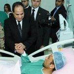 السيسي يزور مصابي تفجيرات سيناء في المستشفيات العسكرية http://t.co/OhnzilVfAZ