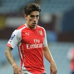 Hector Bellerin scores his first ever goal for Arsenal. Top finish. http://t.co/PFm8FlqTOZ