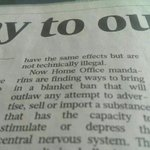 The Home Secretary is trailing her proposal to ban tea and coffee again in todays Sunday Times. http://t.co/VAcF373nv0