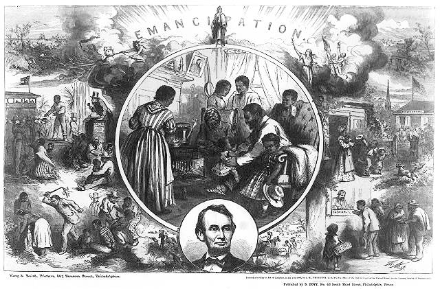 150 years ago today in 1865 President #AbrahamLincoln signed #13thAmendment to abolish #slavery  #HumanRights http://t.co/Do1SW25TSU