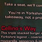A burger to divide any fan base ... #lufc http://t.co/MENGNH5R2S