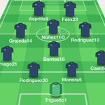 El probable XI de la USAC, para el encuentro de hoy contra Antigua GFC (vía @vivoelazul) http://t.co/bSYX3PxgfR