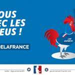 Allez les bleus ! Tous avec léquipe de France de #Handball2015. #FRAQAT cc @ffhandball http://t.co/OEHaLjlKbL