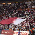 Amazing crowd turnout to support #Qatar once again for the @2015handball Finals. #Doha #LiveitWinit http://t.co/atTIxHCAFa