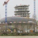 #Bordeaux Une nouvelle vue du chantier de la Cité des civilisations du vin @CCVBordeaux ... Cela avance ! http://t.co/Eei7MfDy77