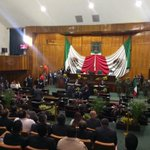 En este momento dio inicio la Sesión Solemne del @MorelosCongreso donde @gracoramirez entregará su #2InformeMorelos http://t.co/d0LJrtG40I