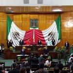 Gob. @GracoRamirez asiste a la Sesión Solemne de apertura del Segundo Período de 3er año de Actividad Legislativa. http://t.co/54bR75R3UB