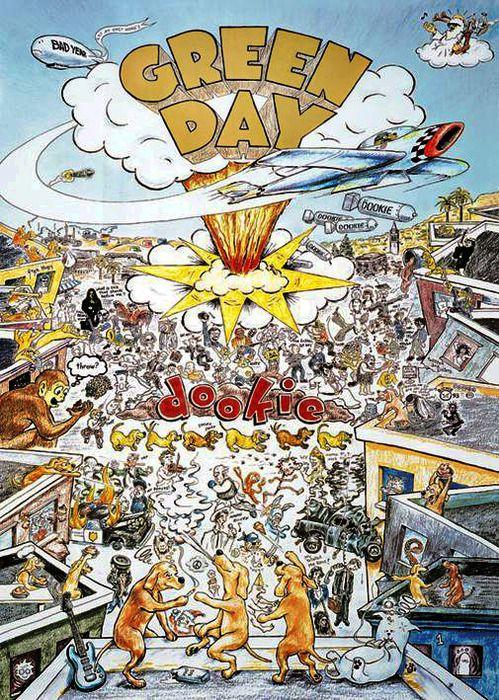 "Green Day's ""Dookie"" turns 21 today! Released Feb. 1, 1994. http://t.co/p1VsrYOLwj"