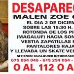Mañana cumpliremos 14 meses buscando a Malen, #desaparecida en #Mallorca y no desfalleceremos. #Colabora 062 http://t.co/S0eLL03vEu