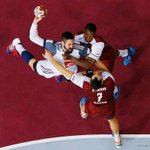 Here is some action happening @2015handball Final between #Qatar #France #LiveitWinit #Doha http://t.co/GMiyrePhXm