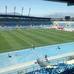 Así está la cancha del Estadio El Teniente a horas que comience el encuentro ante OHiggins http://t.co/h3NvxnkIgu