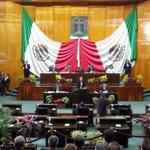Diputada Amelia Marín en su intervención en la tribuna del @MorelosCongreso. #Morelos #2informeMorelos http://t.co/uuY9DjofkI
