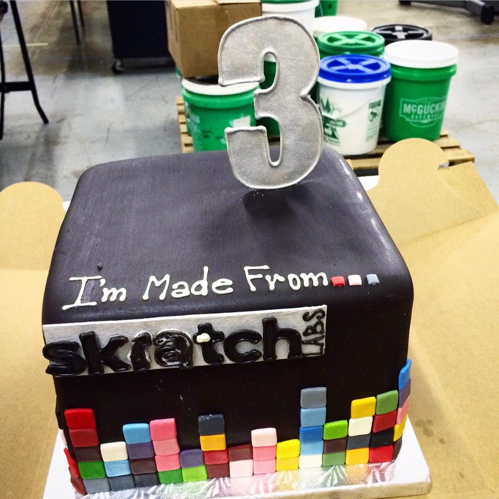 We're 3 years old and celebrating with a little sale @SkratchLabs! http://t.co/onmqd9fKu1 http://t.co/xEQUesmzBT