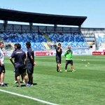 Colo-Colo ya está en el estadio Bicentenario El Teniente #VamosCacique!!! http://t.co/h0RGWYhOCf